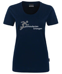 Bild: T-Shirt - Blau - Lady fit