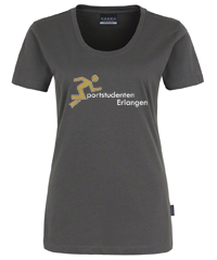 Bild: T-Shirt - Grau - Lady fit